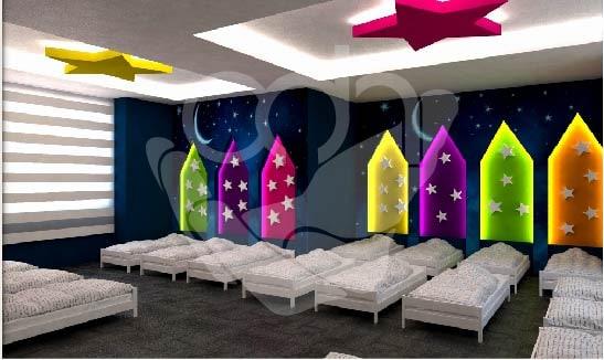 Anaokulu Uyku Odası