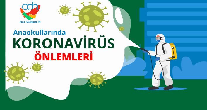 Anaokullarında koronavirüs önlemleri